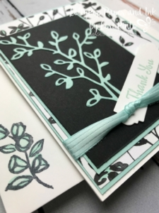 Stampin'Up! Stampinup! Petal Palette Stamp Set and Bundle with Petal Passion DSP Thank You Card by Lori Pinto1