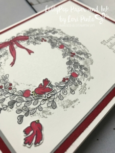 Stampin'Up!, Stampinup! Retiring Stamp Set Feeling of Christmas with sweet birds from Flying Home Stamp Set available Jan 3rd with release of Occasions Catalog. #loripinto1