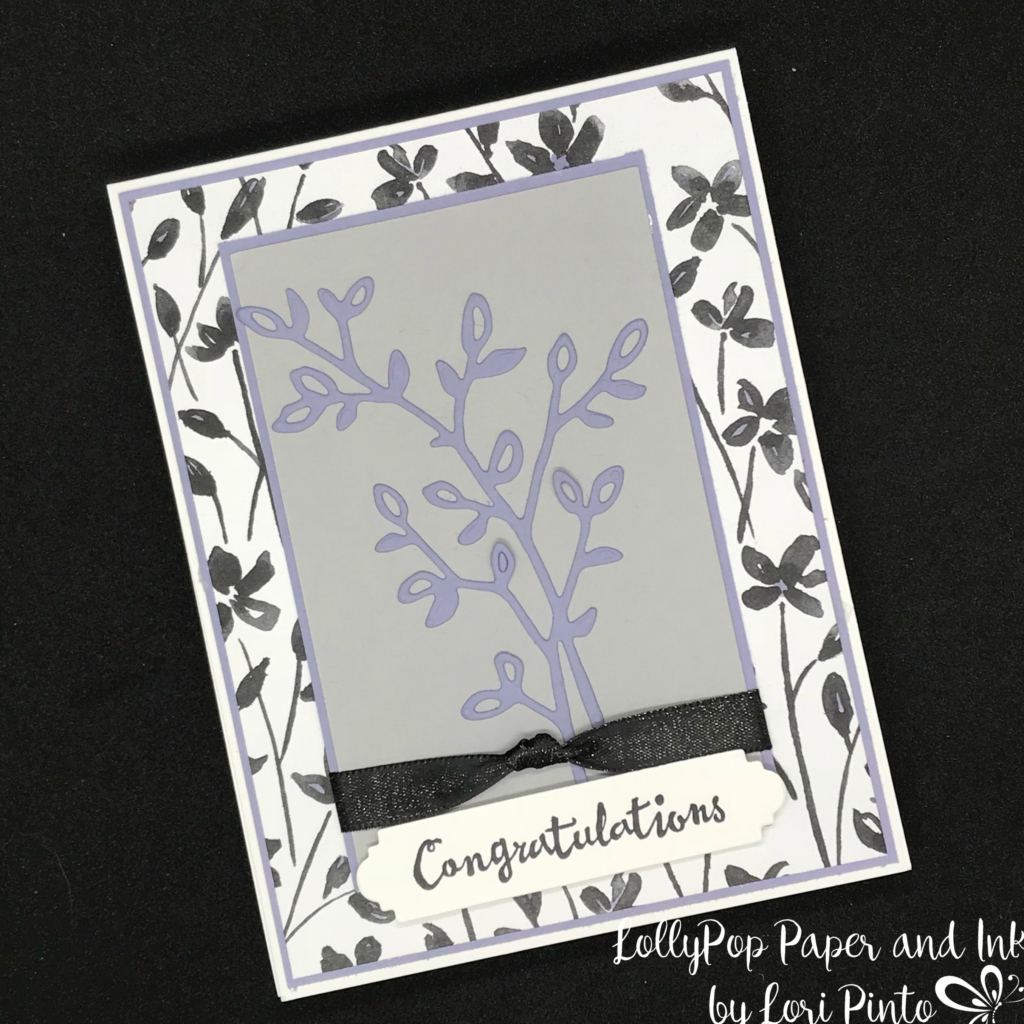 Stampinup! Stampin'Up! Petal Palette Stamp Set and Bundle Congratulations by Lori Pinto1