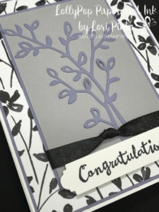 Stampinup! Stampin'Up! Petal Palette Stamp Set and Bundle Congratulations by Lori Pinto