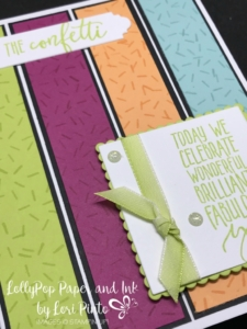 Stampinup! Stampin'Up! Picture Perfect Birthday with Layering Squares Celebrating You Card by Lori Pinto1