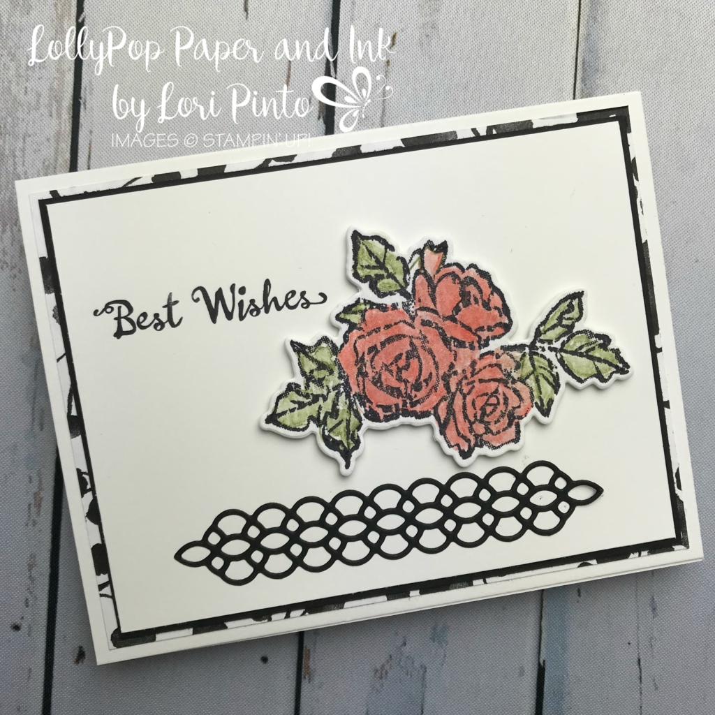 Stampinup! Stampinup! Petal Palette Stamp Set and Bundle Best Wishes by Lori Pinto2