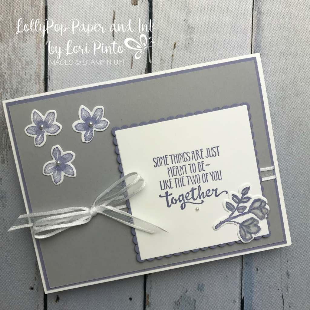 Stampinup! Stampinup! PetalPalette Stamp Set and Bundle Meant to be Together by Lori Pinto