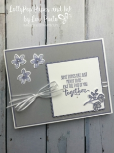 Stampinup! Stampinup! PetalPalette Stamp Set and Bundle Meant to be Together by Lori Pinto2