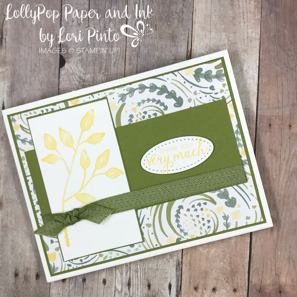 stampinup! stampin'up! petal palette stamp set, bunch of blossoms stamp set with delightful daisy dsp by lori pinto1