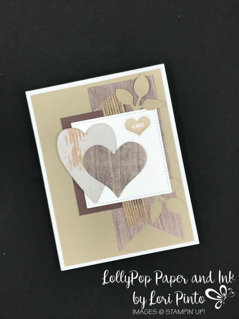 Stampin'Up! Stampinup! Sure Do Love You Stamp Set with Lots to Love Box Framelits Dies Valentine's Card by Lori Pinto1