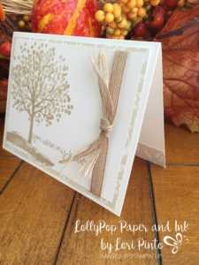 You Warm My Heart Sheltering Tree Stampin' Up!