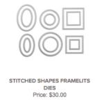 stitched shapes framelits dies