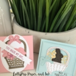 Basket Bunch Mini Easter Note Cards