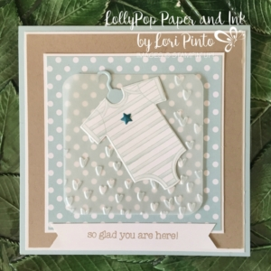 Stampin' Up! Made with Love, Baby's First Framelits Dies