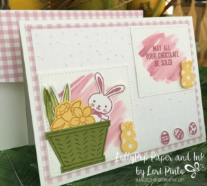 Stampin' Up! Basket Bunch Bundle, Succulent Garden DSP