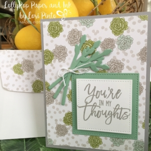 Stampin' Up!, Succulent Garden, Thoughtful Branches, In My Thoughts, Jar of Love