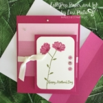 Stampin' Up!, Berry Burst, Color Theory DSP, Daisy Delight