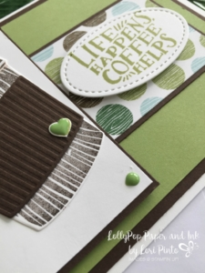 Stampin' Up!, Coffee Cafe stamp set and bundle, Coffee Break DSP,
