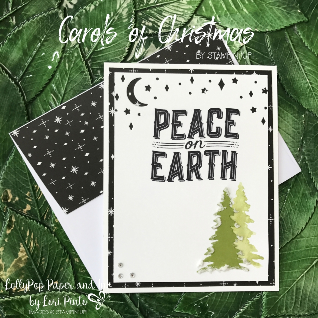 Carols Of Christmas And A Peaceful Earth Lollypop Paper And Ink