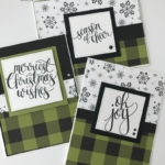 Stampinup!, Merry Little Christmas, Watercolor Christmas by Lori Pinto