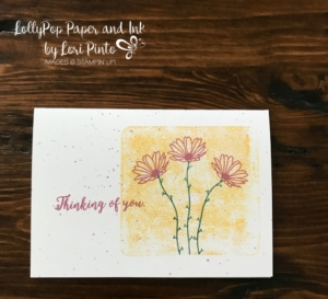 Stampin' Up!, Daisy Delight Stamp Set, Colorful Seasons Stamp Set, Whisper White Note Cards, Color Block