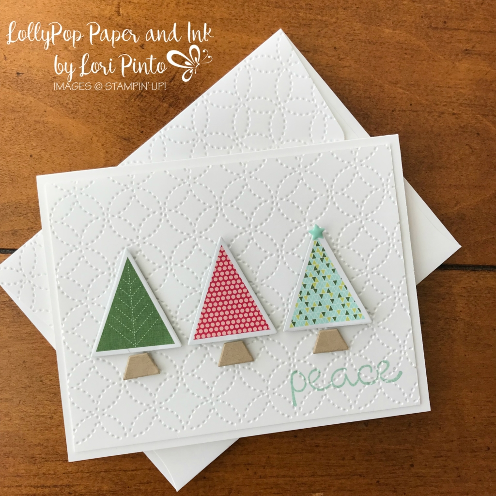 Christmas Quilt Trees Lollypop Paper And Ink