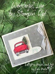 Stampin'Up!, Stampinup!, Wonderful Life with Joy, Christmas Around the World DSP with Stampin' Blender Markers by Lori Pinto