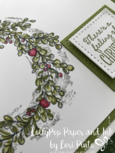 Stampinup!, Stampin' Up!, Feeling of Christmas with Merry Little Christmas DSP and Blender Pens by Lori Pinto1