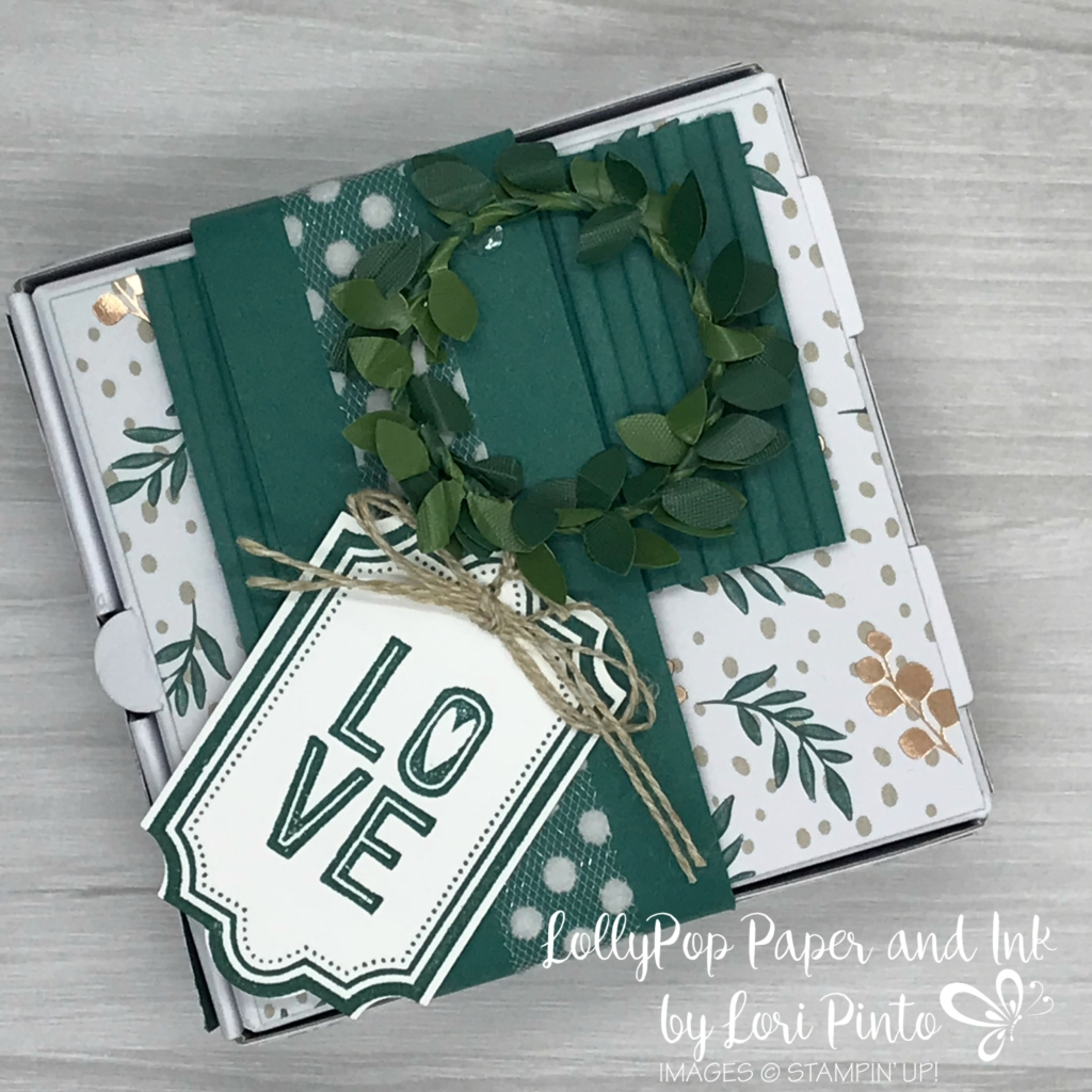Holiday Pizza Gift Box - LollyPop Paper and Ink