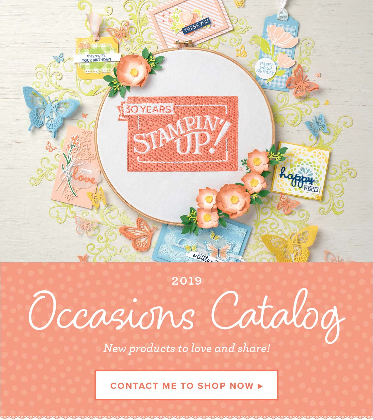 ee21a21c33 The 2019 Occasions Catalog goes live today! This is the biggest event all  year! Shop the Occasions Catalog and with every $50 purchase, you earn FREE  ...